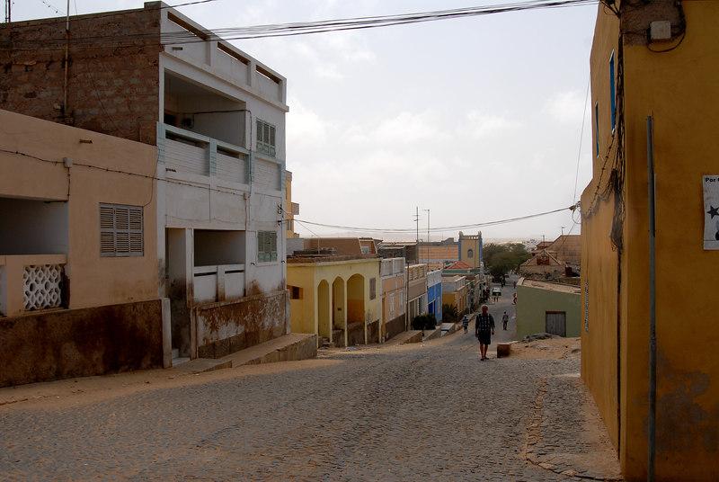 Street scene in Sal Rei, Boa Vista