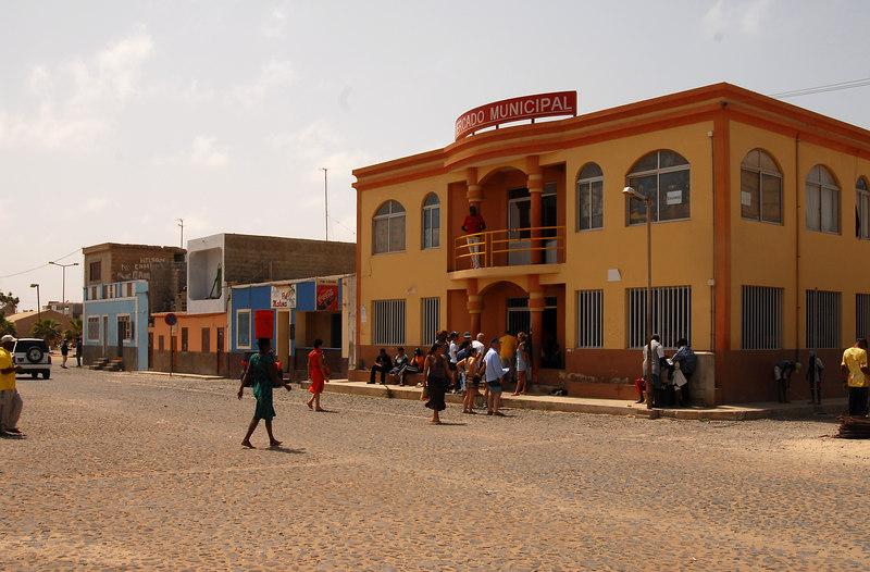 Mercado Municipal, main square, Sal Rei