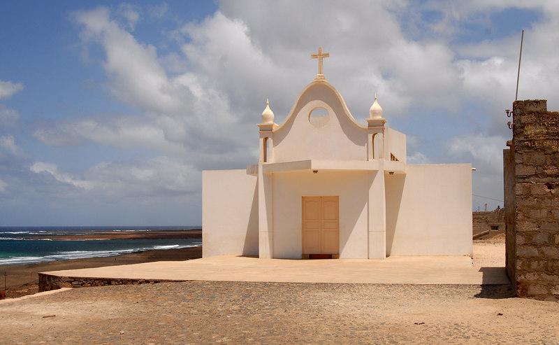 Church in Salamansa village