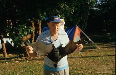Met this bloke and his friend in the Cairns caravan park.
