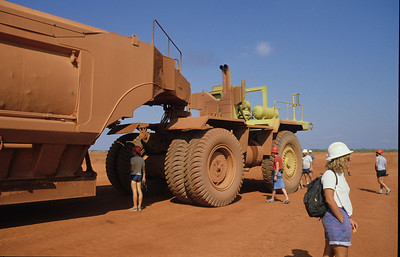 Bauxite mining - Weipa.