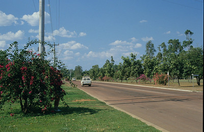 Civilisation as we arrive in Weipa.
