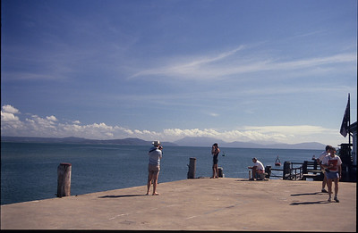 Looking north from the wharf at Port Douglas.