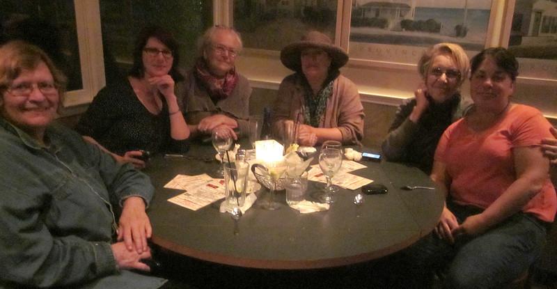 Sue, Christie, Helen, Polly, Sylvia, Maureen, Lobster Pot, Ptown