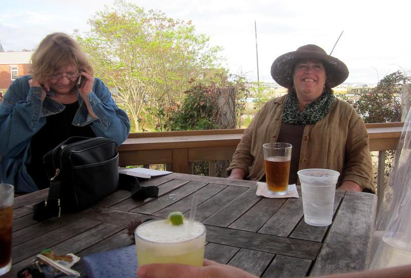 Sue and Polly, Aqua Bar, Ptown