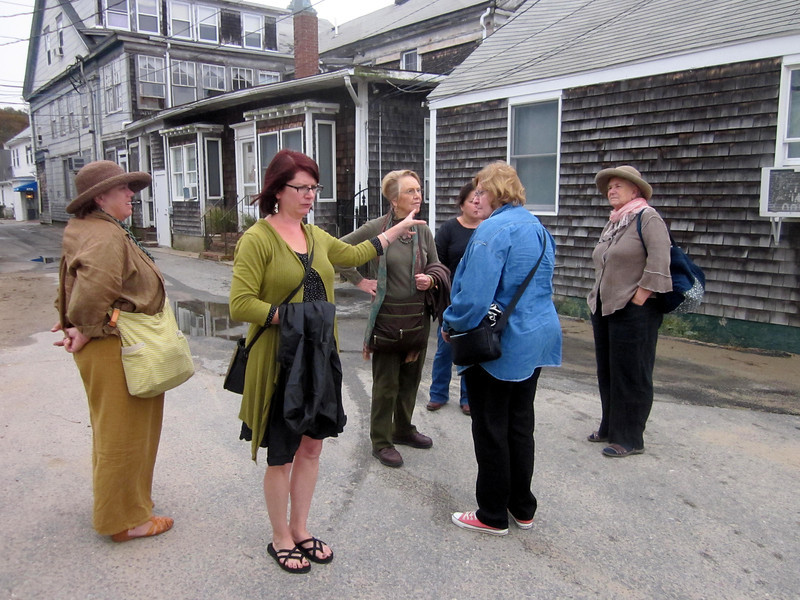 Provincetown, planning where we'll meet up