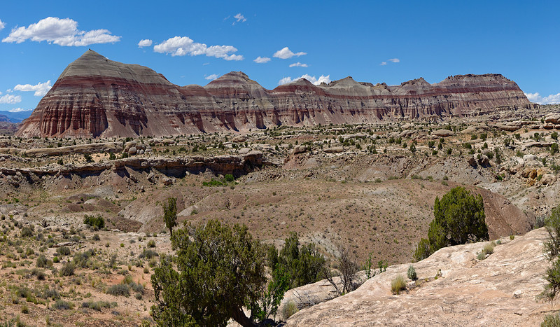 Along the Cathedral Valley Loop