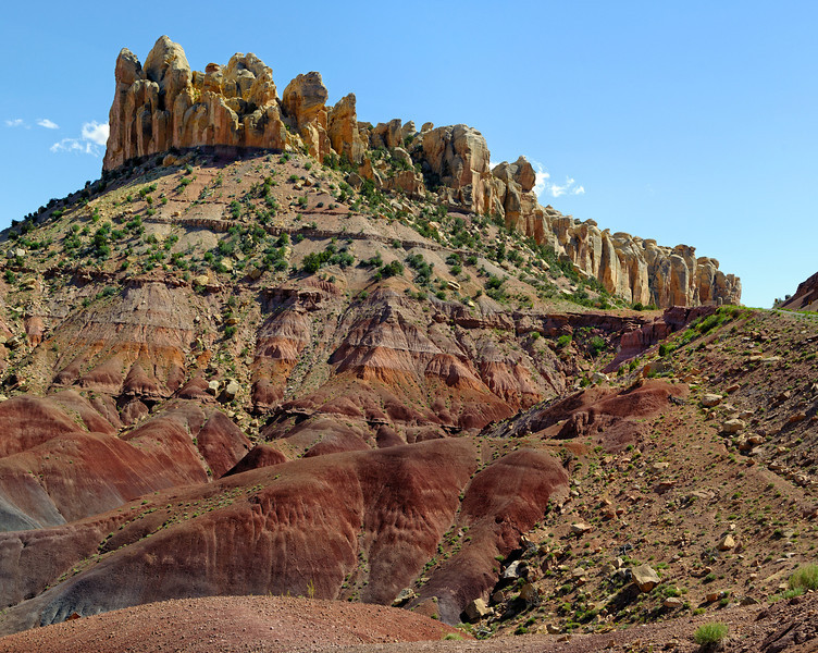 along the Burr Trail