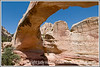 Huge natural arch in Capitol Reef National Park