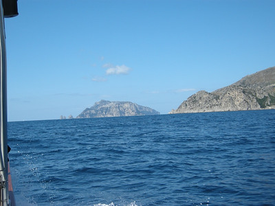 on way to capri