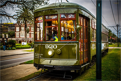 For a buck twenty-five you can ride the street car and see the uptown area in about an hour's ride.