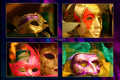 The Masquerade Masks.
