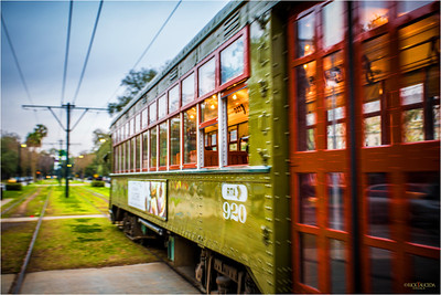 All aboard for a trip into New Orleans' past on the oldest continuously operating streetcar in the world, about 150 years old.
