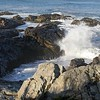 Maine's rocky coast is so beautiful.