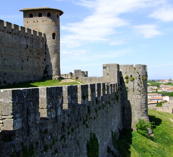Fortress of outer and inner walls