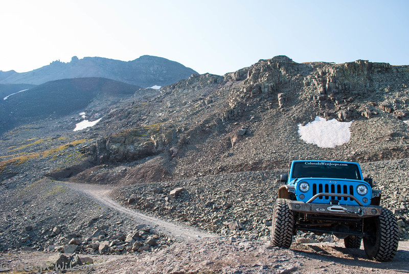 Colorado West Jeep Tour<br /> Imogene Pass