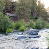 Currents at the Riverhouse<br /> (Sterns Cabin from the movie Rooster Cogburn, featuring John Wayne and Katharine Hepburn, filmed at Smith Rock State Park)