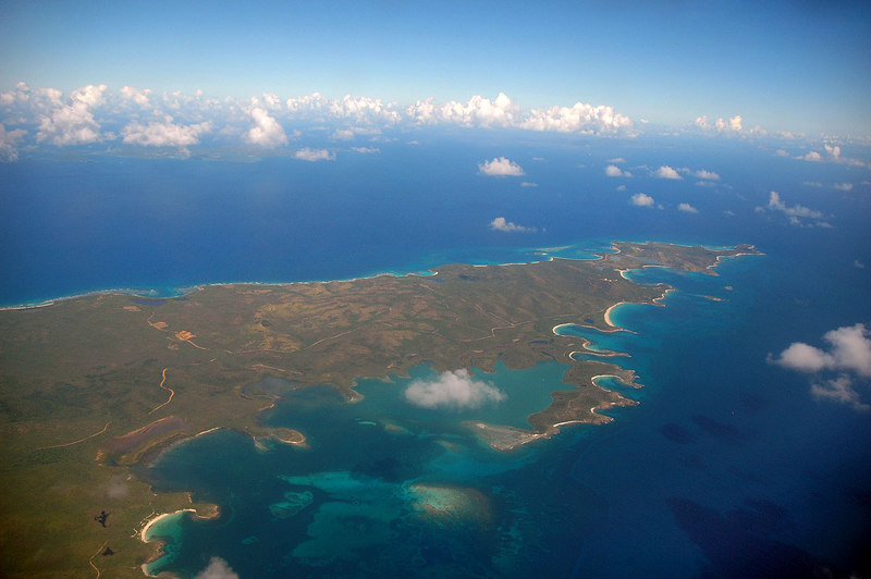 I think this is part of St John as we approach St Croix.
