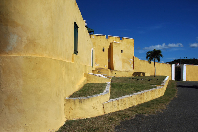 Another view of the fort.