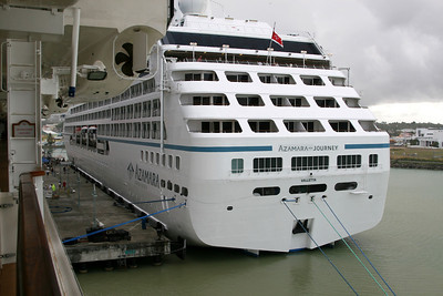 Azamara Journey is the sister ship to Tahitian Princess.  Hmmmm.  Makes me want to take an Azamara cruise.