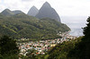 The Pitons!