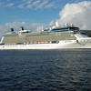 A floating five star motel the Celebrity Equinox