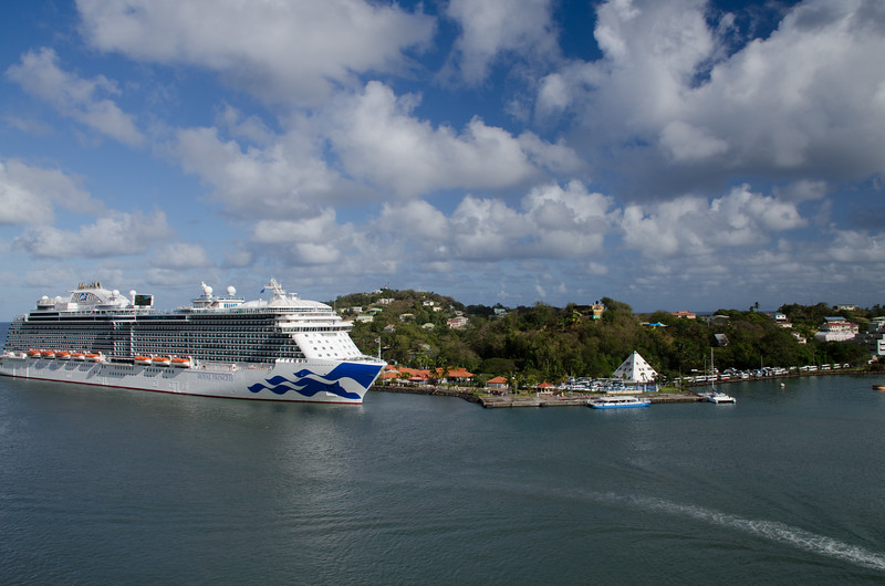 St Lucia Cruise Terminal