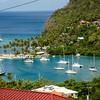 St Lucia, Marigot Bay