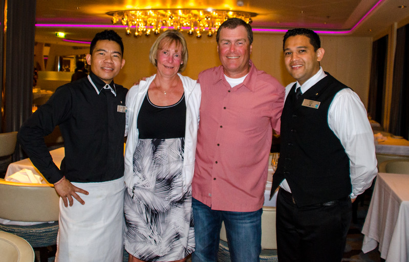 Us and the Dinner Team, Jairon and Mulliarta