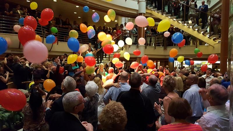 Balloon Drop & Dance