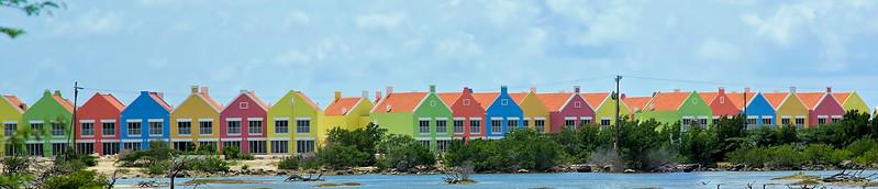 A resort being built