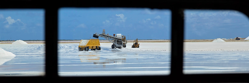 Salt Mining in Bonaire