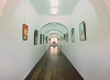 I loved the long hallways and repeating arches in the building
