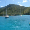 At anchor at Francis Bay, St. John.