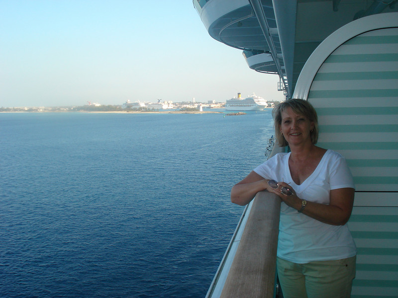 Leaving Nassau. Next stop - Ft. Lauderdale and trip home.
