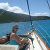 Perfect day for sailing off St. John!