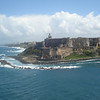 El Morro at the entrance to San Juan Harbor.