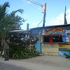"THE famous ""Bomba Shack"" on Tortola. They throw a mean party here every full moon."