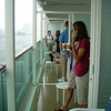 Balcony on Liberty of the Seas (Oct. 25)