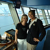 Raye with our lovely host & Cruise Staff member Rebecca Sumner (from England).