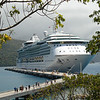 Jewel of the Seas at the new Labadee pier.