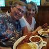 Dinner at Oakwood Smokehouse & Grill in Lady Lake, Florida.