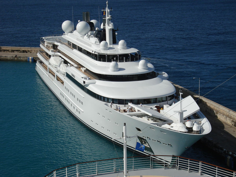 "Motor Yacht ""Katara"" is the 10th largest private yacht in the world at 405'. Owned by the Emir of Qatar."