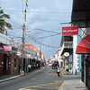 Main shopping street in Charlotte Amalie.
