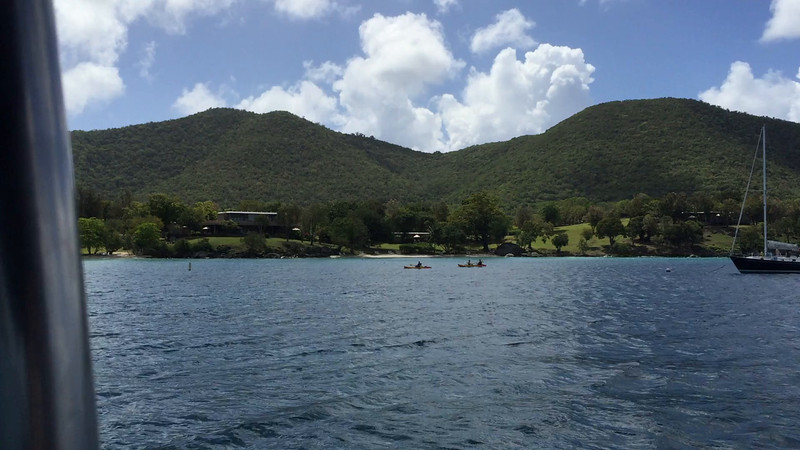 ** VIDEO **  View from our boat in Caneel Bay, St. John.