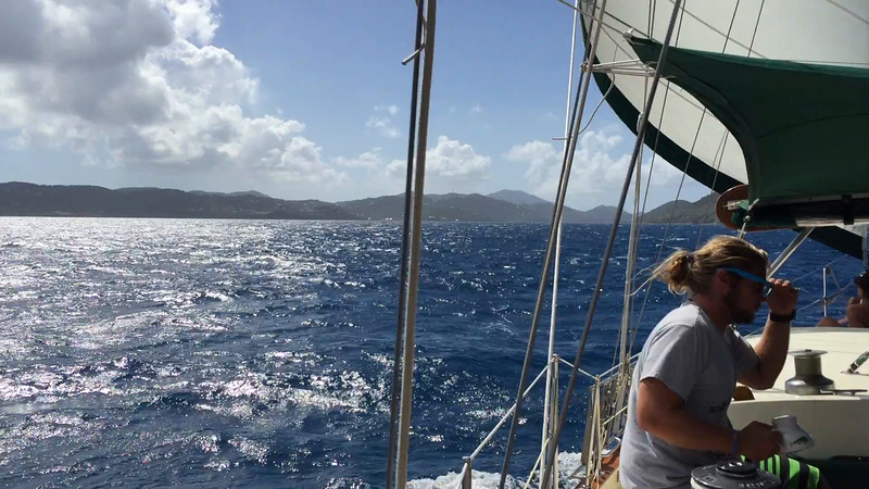 ** VIDEO **  Great day for a sailboat ride.