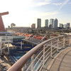 View of downtown Tampa from ship.