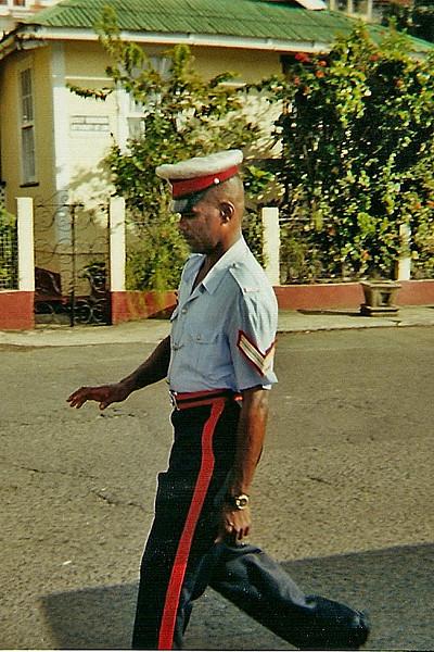 Grenada policeman.