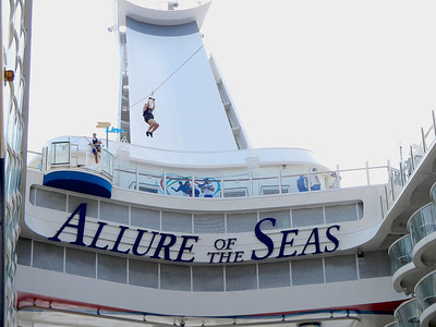 """Allure of the Seas"" Cruise"