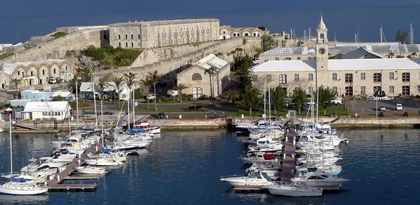 Naval Yard. Cruise Ship Dock.